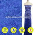 royal cor azul turquesa algodão guipure rendas raschel tecido