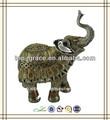 resina de hogar y jardín lifesize estatuas de elefantes