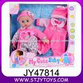 14 polegadas boneca reborn linda vinil bonito boneca com roupas e chapéu