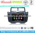 2 DIN YARIS específico de coches reproductor de DVD con IPOD, Bluetooth, GPS, radio, ATV, DVB-T, ATSC, CONTROL DE LA RUEDA DE ST
