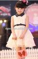 elegante y romántico de la inocencia vestido de princesa