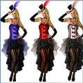 Cosplay venta al por mayor de las mujeres atractivas Moulin Rouge Disfraces