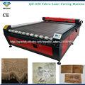 máquina de corte de rollo tela /máquina láser de auto alimentación QD-1620