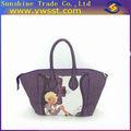 Púrpura lindo bolsos de mano para las mujeres( mh28)