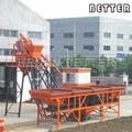 25m3/h mini betão planta, usado usina de concreto venda, betão planta