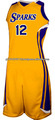 Reversible Moisture Management Adult Custom Basketball Uniform/Wholesale Breathable Women's Basketball Uniforms