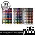 Profesional 180 color pigmentado de alta ojos permanente hacer- up paletas