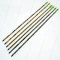 De fibra de carbono hecho flechas en dongguan 100% de fibra de carbono