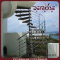 Extérieures. préfabriquées, escalier en fer dessins pour l'extérieur des prix