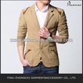 los hombres trajes de moda casual