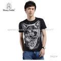 Camiseta de impresión 3D de hombres jóvenes populares ropa de compra a granel