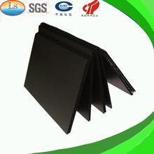 color negro estriado conductor plástico corrugado hoja pp 4x8