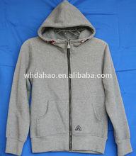 de color gris niñas la sudadera con capucha polar ropa