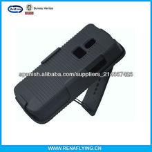 teléfono móvil de la pistolera del clip de combo para lg L1X e 410