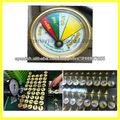medidor de presión de gas natural