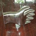 Para moldes de guante guante de acero inoxidable