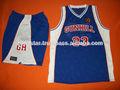 Slam estilo uniformes de baloncesto/de la escuela de baloncesto ropa uniformes//universidad de baloncesto uniforme para hombre