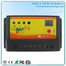 10A Hora y control de luz, controlador de carga solar