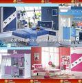 مصغرة أثاث غرفة نوم الأطفال الحديثة الملونة 9835