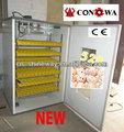 Pollo automática de la máquina incubadora/incubadora de huevos de alta hatching CNSI528