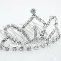 diamantes de imitación de desfile de las coronas de fábrica precio de venta al por mayor