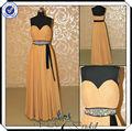 P0106 perlées. couleur champagne libre. modèles, robes du soir 2014 nouvelle mode