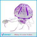 De silicona de la decoración del acuario de medusas para el tanque, la simulación de medusas