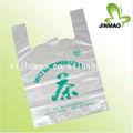 biodegradável de grandes sacos de plástico transparente