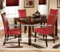 2014 venta directa de fábrica de cuero nuevo estilo silla de comedor