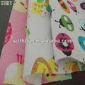 Shijiazhuang 100% de algodón de impresión de tela de franela para baby