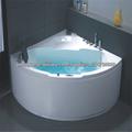 Canto de boa qualidade interior banheira simples