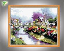 el paisaje natural del arte de la pintura