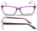 Marco óptico eyewear del plástico y del acetato de la alta calidad