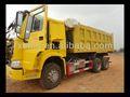 Sino de camiones de descarga de camiones, hecho en china