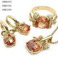 conjunto de joyas de oro fabricante de joyería