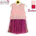 los niños coreanos ropa de los niños al por mayor ropa de boutique de vestidos para niñas de siete años de edad