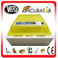 Precio Hottest automática incubadora de huevos de ganso en venta solar pollo huevo incubadora para la venta de VA-48