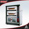 18kw eléctrica panadería de equipos para la venta/industrial máquinas de panadería/pita pan de panadería de la máquina