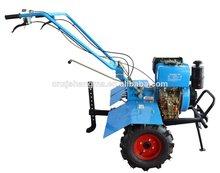 la caja de engranajes 2 drived rueda de gasóleo agrícola granja rotary tiller arado mini tractores caminar