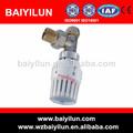 angled 15mm válvula termostática com tubo pex ligação