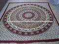 venta al por mayor de la india impreso sábanas mandala de elefante