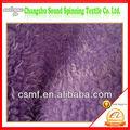 Purple fábricas de tela de felpa en China