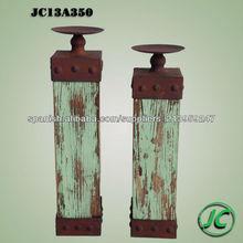candelabro de madera