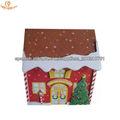 Venta caliente de la Navidad caja en forma
