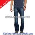2014 la gata del algodón denim jeans pierna recta para el hombre( ldqe3)