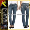 2014 popular venta al por mayor skinny jeans para mujeres( xc- 00106)