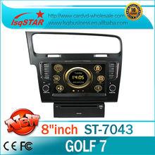 estrella lsq para volkswagen golf 7 de dvd del coche de radio con 3g