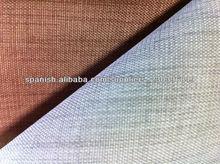 100%Poliéster transparente de cortina