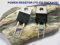 chip de potencia resistencia