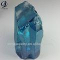 gemstone sintético material bruto gema azul semi pedras preciosas